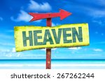 Heaven Sign With Beach...