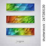 business design templates. set... | Shutterstock .eps vector #267283130