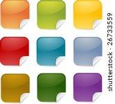 square blank multicolored... | Shutterstock .eps vector #26733559