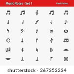 Music Notes Icons. Professiona...