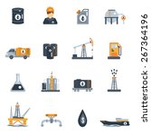 oil industry petroleum product... | Shutterstock .eps vector #267364196