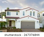 new home building exterior house | Shutterstock . vector #267376844