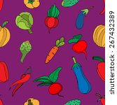 seamless background of... | Shutterstock .eps vector #267432389