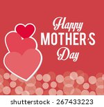 happy mothers day card design ... | Shutterstock .eps vector #267433223