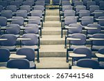 Lecture Chairs In A Class Room...