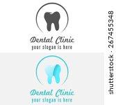 logo or badge  label  logotype... | Shutterstock .eps vector #267455348