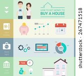 infographic with... | Shutterstock .eps vector #267471518