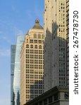the skyscrape   sunset | Shutterstock . vector #267478730