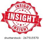 insight red grunge seal... | Shutterstock . vector #267515570
