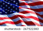 flag of the usa   | Shutterstock . vector #267522383