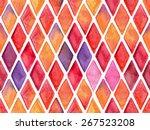 vector seamless hand drawn... | Shutterstock .eps vector #267523208