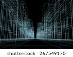 projects city | Shutterstock . vector #267549170