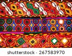 Colorful Ethnic Belts With...