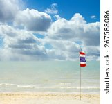 thailand beach  sea sand sky ...   Shutterstock . vector #267588086
