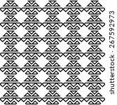 vector seamless pattern ... | Shutterstock .eps vector #267592973