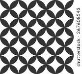 geometric pattern seamless.... | Shutterstock .eps vector #267608543