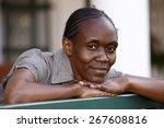 portrait of african woman ...   Shutterstock . vector #267608816