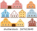 historic architecture | Shutterstock .eps vector #267613640