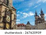 Astronomical Clock And Church...