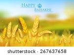 Illustration Of Happy Baisakhi...