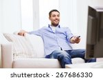 home  technology  people and... | Shutterstock . vector #267686330