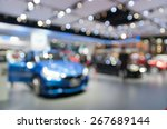 abstract blurred photo of motor ... | Shutterstock . vector #267689144