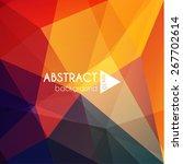Abstract Vibrant Geometric...