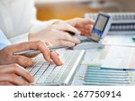 business accounting  | Shutterstock . vector #267750914