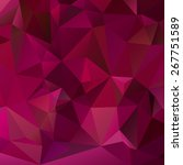 abstract triangle purple... | Shutterstock .eps vector #267751589