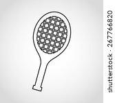 sport icon design  vector... | Shutterstock .eps vector #267766820