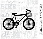 hipster design over white... | Shutterstock .eps vector #267775526