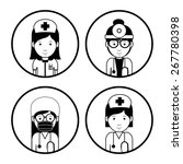 health professional design over ... | Shutterstock .eps vector #267780398