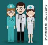 health professional design over ... | Shutterstock .eps vector #267781049