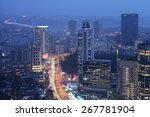 istanbul city view | Shutterstock . vector #267781904