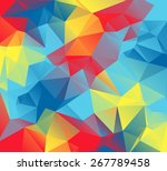 an abstract colorful background ... | Shutterstock .eps vector #267789458