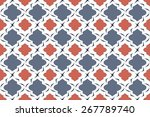 Nautical Quatrefoil Seamless...