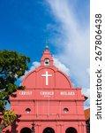 Christ Church In Malacca  The...
