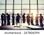 business people conference... | Shutterstock . vector #267806594