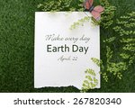 Earth Day  April 22  Concept...