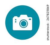 photo camera symbol. digital...