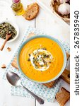 Roasted Pumpkin And Carrot Sou...