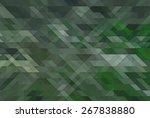 retro pattern of geometric...   Shutterstock . vector #267838880