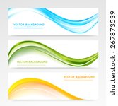 vector abstract background... | Shutterstock .eps vector #267873539