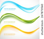 vector abstract background... | Shutterstock .eps vector #267873560