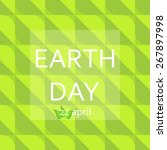 earth day  22 april  eps 10 | Shutterstock .eps vector #267897998