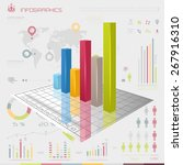 vector business graphic  world...