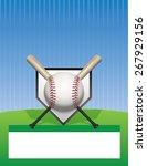 a baseball tournament flyer... | Shutterstock .eps vector #267929156