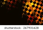 stylish abstract background...   Shutterstock . vector #267931628