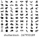 image icons of different... | Shutterstock .eps vector #267953189
