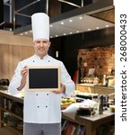 cooking  profession ... | Shutterstock . vector #268000433